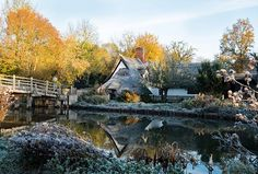 This frosty and idyllic photograph was taken by Alan Moran in East Bergholt Suffolk. We are always looking for new photographs for the England's Big Picture gallery. Use and to share your pictures with us. Pictures Of England, England Countryside, Big Picture, Travel Around, Britain, Traveling By Yourself, Photographs, Mindfulness, Gardens