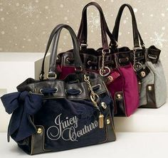 juicy couture I love the daydreamer style! I have always wanted a pink one. Be it all pink, pink and brown or pink and black