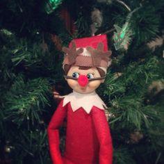 Cute reindeer costume Rudolph Elf on the Shelf Costume on Etsy