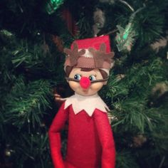 Cute reindeer costume Rudolph Elf on the Shelf Costume on Etsy