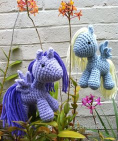 Pony Crochet Pattern by IndigoHeartBox on Etsy