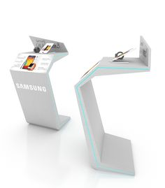 A stand for the new Note 3 to be shown in malls and hyper markets