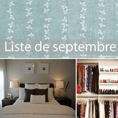 Liste de septembre