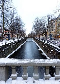 Uppsala, the most enigmatic city in the world. Sweden, december by Antropólogo Fidelio Oh The Places You'll Go, Cool Places To Visit, Kingdom Of Sweden, Scandinavian Countries, Sweden Travel, Travel Money, Adventure Is Out There, European Travel, Wonders Of The World