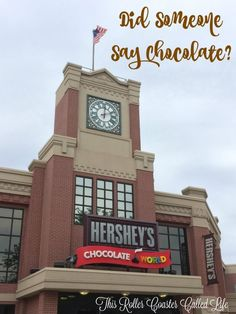 Having a place calledChocolate Worldnearby is a great perk of living…