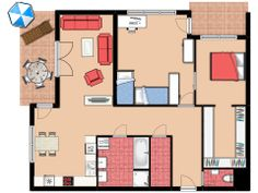 Floorplanner is the easiest way to create floor plans. Using our free online editor you can make blueprints and (interior) images within minutes. Classroom Layout, Classroom Organisation, Home Organisation, School Organization, Classroom Ideas, Organizing, Design Your Own Room, Design Your Home, Selling Real Estate