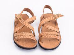 Handmade braided sandals girls