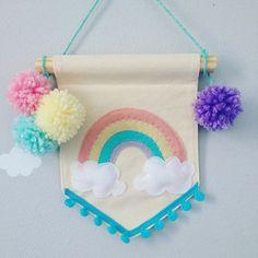 Mini flâmula arco-íris  Lindinha que só ela ✨
