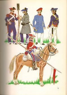 Carlists Artillery , Artillery Sapper Officer, Co Artillery & Lancer Marines, 19th Century, Knight, Battle, Spanish, Empire, Illustration, Army, Military