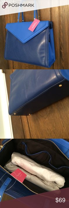 Isaac mizrahi new lapis tote Lovely two tone lapis tote Isaac Mizrahi Bags Totes