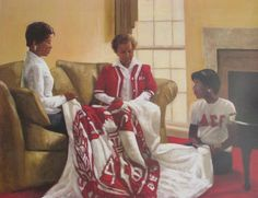 """Through The Years, Delta Sigma Theta"" by Alonzo Adams"