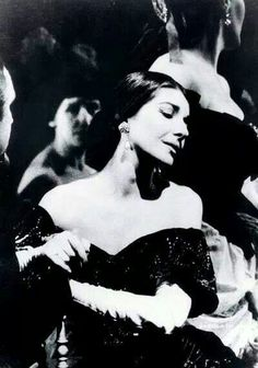 Maria Callas in La Traviata