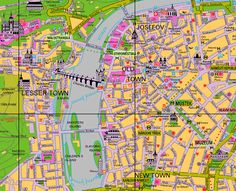Map of Prague - links to what to do, where to stay, bars, pubs etc.