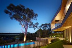 Inarc Architects have designed the Bluff #House, a 2 level residence in Flinders, Australia.