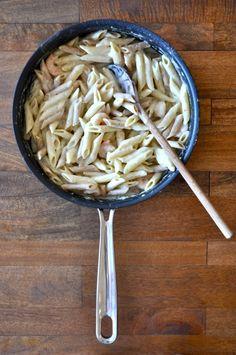 minimalist baker light alfredo pasta