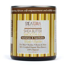 Bananas & Baobabs Double Shea Butter Smooth-EE
