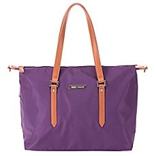 image of Perry Mackin Ashley Diaper Bag in Lilac