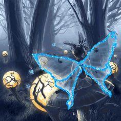 Fairy On Mushroom photo by angellovernumberone