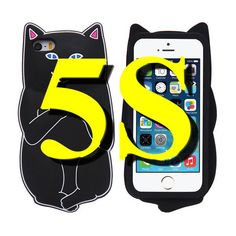 Cute Cat Case For iPhone 6 6s Plus 5s SE Case Ripndipp 3D Animals Soft Silicon Rock Pocket Kitten Cover For iPhone 6 6s 5 5s SE