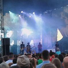 """Foto z koncertu zespołu """"Lady Pank"""" nad Bulwarem Nadodrzańskim podczas Dni Głogowa 2016   Głogów, 05.06.2016 r."""