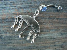Its raining its pouring umbrella belly ring CHOOSE ONE in beach boho gypsy hippie belly dancer beach hipster and fantasy style