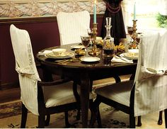 Dining Room Sweat Homes Designs Interior With Pretty Slipcovers For Chairs Make Beauty