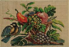 A Very Rare Berlin WoolWork Pattern Produced By T Mollo c1810