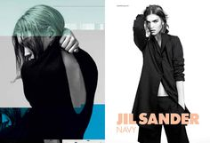 Jil Sander Navy ad