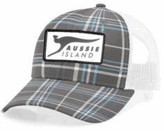 691c98dfee4 Richardson 114P Plaid Mesh Back Adjustable Cap Baseball Hats