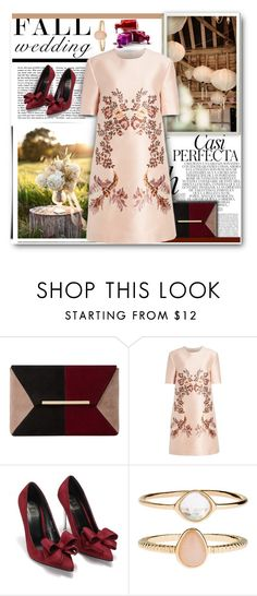 """Fall Wedding"" by lolaparis7 ❤ liked on Polyvore featuring Whiteley, Dune, STELLA McCARTNEY and Accessorize"