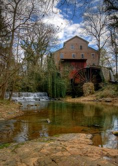 Falls Mill ~ Tennessee....sweet little Places we can take little day trips together!! <3