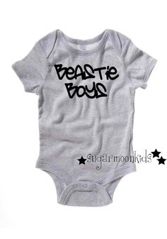 Beastie Boys Baby Onesie by sugarmoonkids on Etsy, $17.50