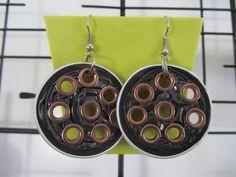 Eco orecchini con cialde caffè