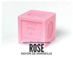 Savon de Marseille Cube - Rose Soap 300g