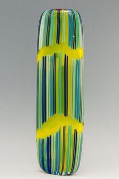 Pimpollo Series/Daffodil Yellow w/Blues  David Calles