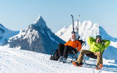 Winter package deals © Atelier Mamco Package Deal, Mount Everest, Skiing, Photos, Mountains, Winter, Travel, News, Atelier
