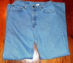 $15.99 OBO Levi's 550 Red Tag Relaxed Fit Jeans Junior's Sz 11L 31X32 Excellent Condition #Levis #Relaxed