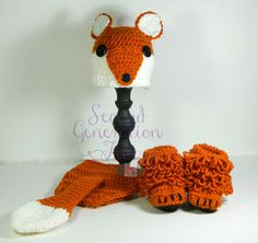 Fox baby set baby fox outfit baby fox photo by 2ndgenerationfibers