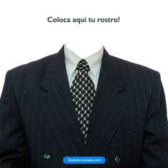 Coloca tu rostro en un traje para crear tu imagen de presentación Photoshop, Suit Jacket, Suits, Jackets, Fashion, Knights, Create, Down Jackets, Moda