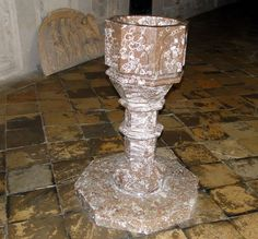 Cristelnita de marmura din sec. XVII-lea