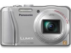 Panasonic DMC-ZS20S - NEW! LUMIX DMC-ZS20 14.1 Megapixel Digital Camera - Overview