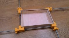 Clamp for boxes or frames by Jager-f - Thingiverse 3d Printing Diy, 3d Printer Designs, 3d Cnc, Modelos 3d, Cnc Projects, 3d Prints, Woodworking Jigs, 3d Design, Design Files
