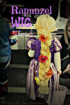 Rapunzel wig                                                                                                                                                      More