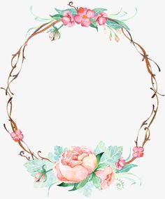 Ideas Flowers Roses Vintage Bridesmaid For 2019 Flower Backgrounds, Wallpaper Backgrounds, Iphone Wallpaper, Frame Floral, Flower Frame, Deco Floral, Motif Floral, Borders And Frames, Vintage Diy