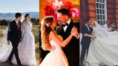 From Sofia Vergara to Tina Knowles, here are ET's favorite bridal looks of the year.