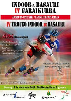 IV Trofeo Indoor de Basauri de Patinaje de velocidad. 5 febrero de 2017. #irristaketa