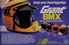 BICYCLE MOTOCROSS HELMETS.★Old School Bmx!