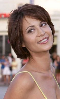 Short Layered Hairstyles From year to year, a short hairstyle is traditionally topped by the lists of the most popular female haircuts. In the 2019 se…, Hairstyle Ideas Source by Layered Bob Short, Short Layered Haircuts, Layered Bob Hairstyles, Short Hair With Layers, Short Hair Cuts, Short Hair Styles, Pixie Cuts, Short Pixie, Short Bobs