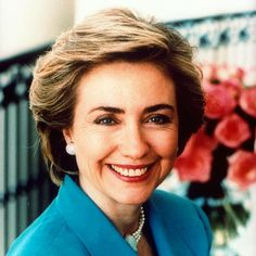 Hillary Rodham Clinton's Changing Looks - 1993 from InStyle.com