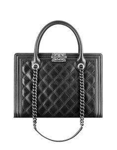 5f7d18f759ce boy chanel large zippe shopping bag Chanel Tote Bag, Chanel Handbags,  Fashion Handbags,
